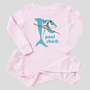 Pool Shark Baby Pajamas
