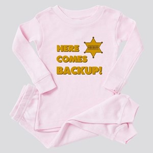 Deputy Backup Baby Pajamas