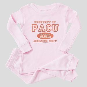 Property Of PACU Nurse Baby Pajamas