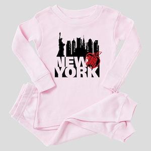 New York Baby Pajamas