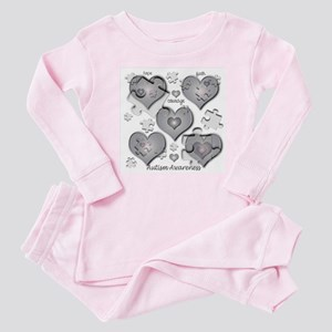The Missing Piece Is Love Baby Pajamas