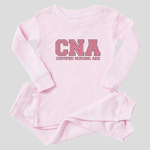 Aide Pink Curls Baby Pajamas