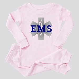EMS Star of Life Baby Pajamas