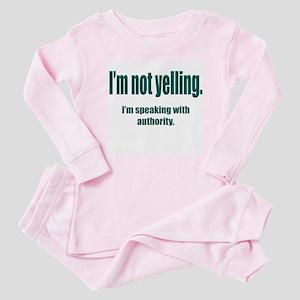 Authority Baby Pajamas