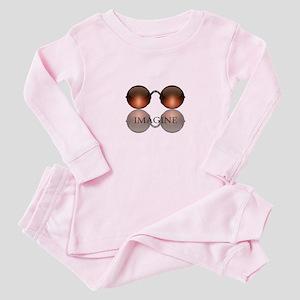 Imagine Rose Colored Glasses Baby Pajamas