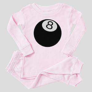 Riyah-Li Designs 8 Ball Baby Pajamas