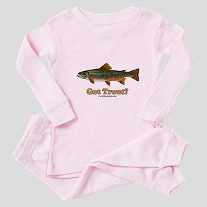 Got Trout? Baby Pajamas