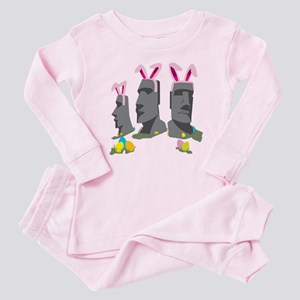 Easter Island Baby Pajamas