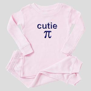 cutie Pi Baby Pajamas