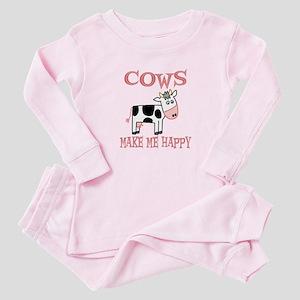 Cows Baby Pajamas