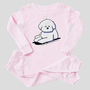 Bichon Frise Baby Pajamas