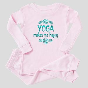Yoga Happiness Baby Pajamas