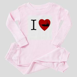 I <3 Nantucket Baby Pajamas