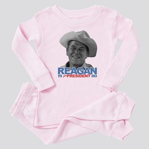 Reagan 1980 Election Baby Pajamas