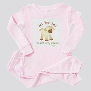 His Little Lamb Baby Pajamas