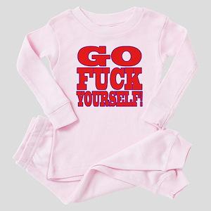 Go F Yourself Baby Pajamas