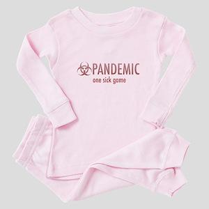 one sick game 3 Baby Pajamas