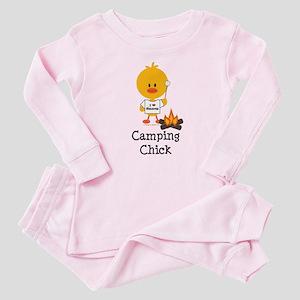 Camping Chick Baby Pajamas