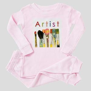 ACEO Art Baby Pajamas