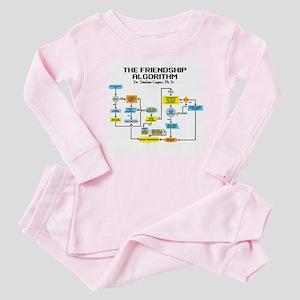 Friendship Algorithm Baby Pajamas