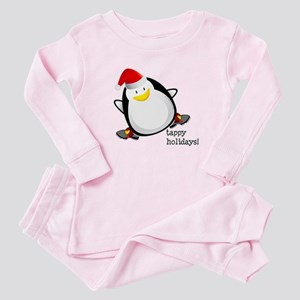 Tappy Holidays! by DanceShirts.com Baby Pajamas