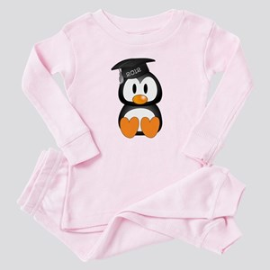 Custom Graduation Penguin Baby Pajamas