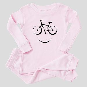 Bike Smile Baby Pajamas