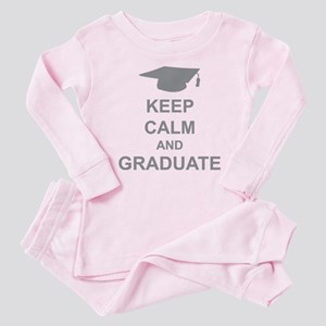 Keep Calm and Graduate Baby Pajamas