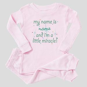 Custom Little Miracle Baby Pajamas