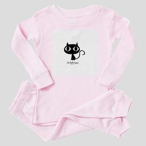 Meow. Baby Pajamas