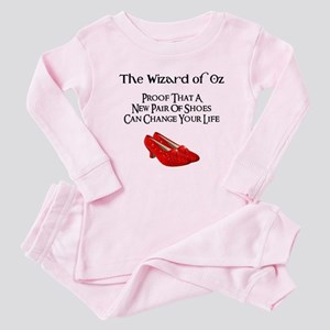 Dorothy's Ruby Red Slippers Baby Pajamas