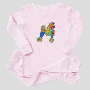 Pretty Poodle Design Baby Pajamas