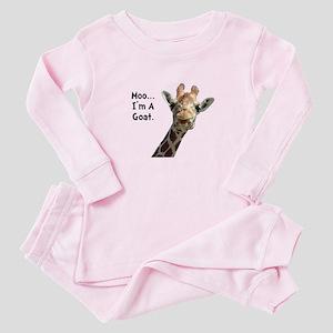 Moo Giraffe Goat Baby Pajamas