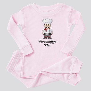 Personalized French Chef Baby Pajamas