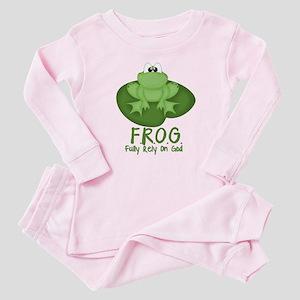F.R.O.G. Baby Pajamas