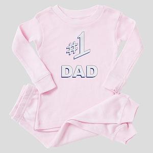 #1 Dad Baby Pajamas