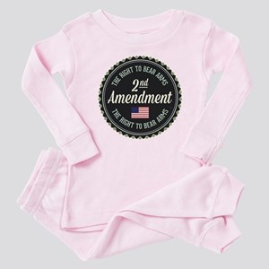 Second Amendment Baby Pajamas