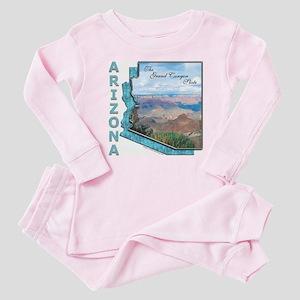 Arizona - Grand Canyon State Baby/Baby Pajamas