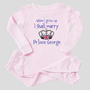 Marry Prince George Baby Pajamas