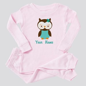 Personalized Owl Baby Pajamas