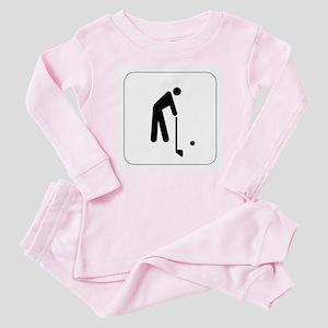 Golf Icon Baby Pajamas