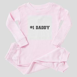 #1 Daddy Baby Pajamas