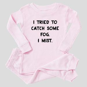 Weather Pun Baby Pajamas