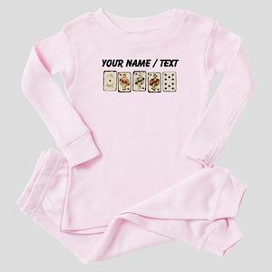 Custom Royal Flush Baby Pajamas