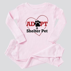 Adopt a Shelter Pet Baby Pajamas