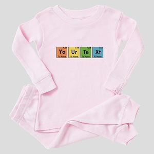 Personalized Your Text Periodic Ta Baby Pajamas