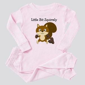 Squirrely Baby Pajamas