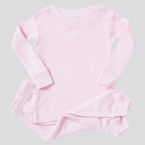 lambo light blue Baby Pink Pajamas