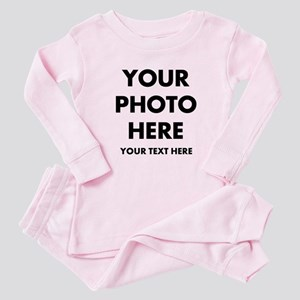 Customize Photo And Text Baby Pajamas