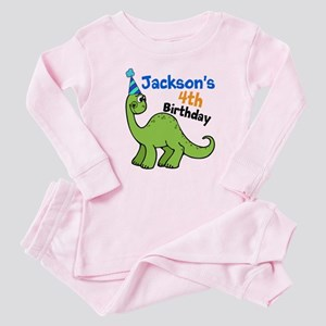 Dinosaur Birthday Baby Pajamas